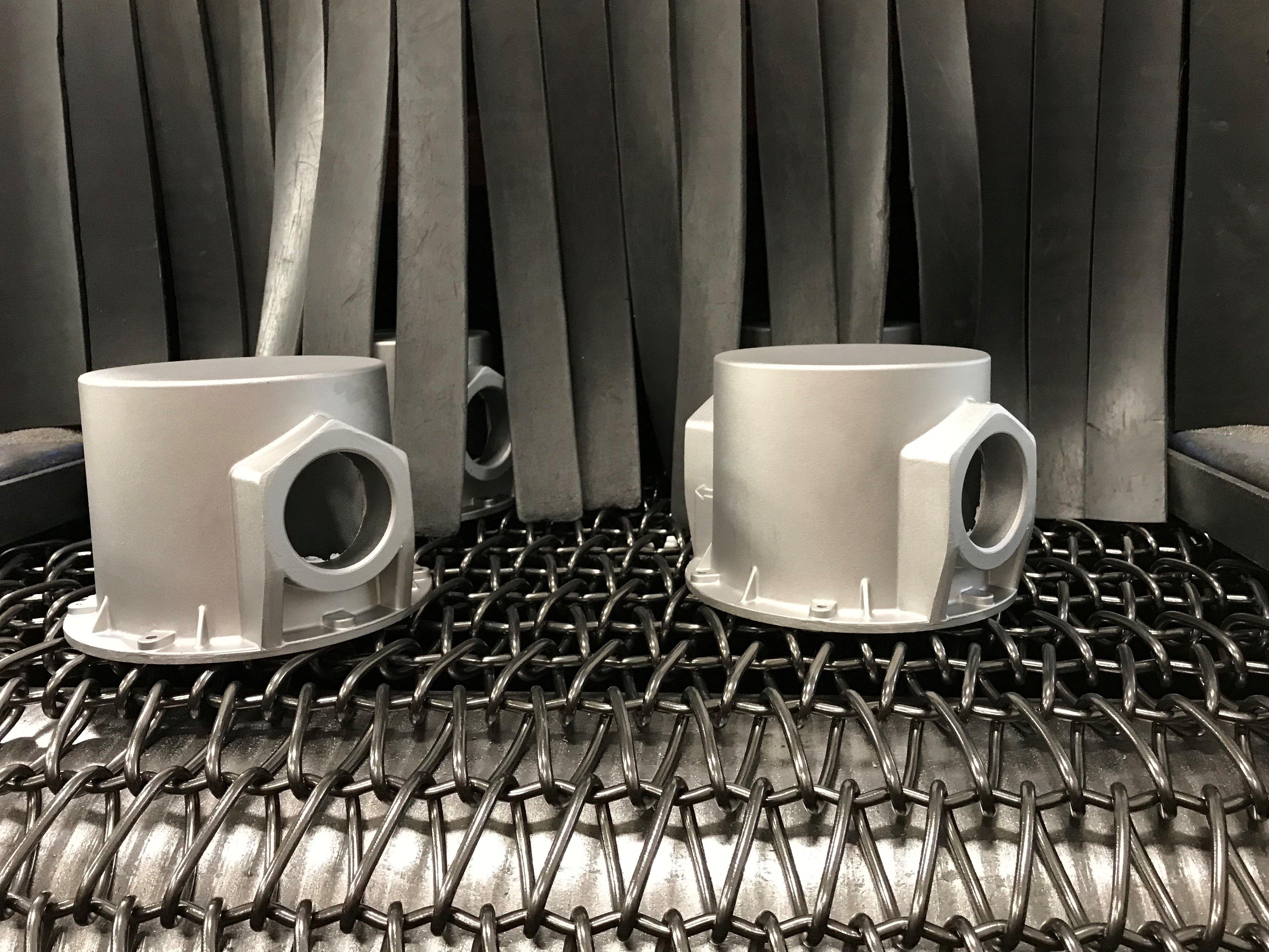 Burattatura di Pressofusi in Alluminio